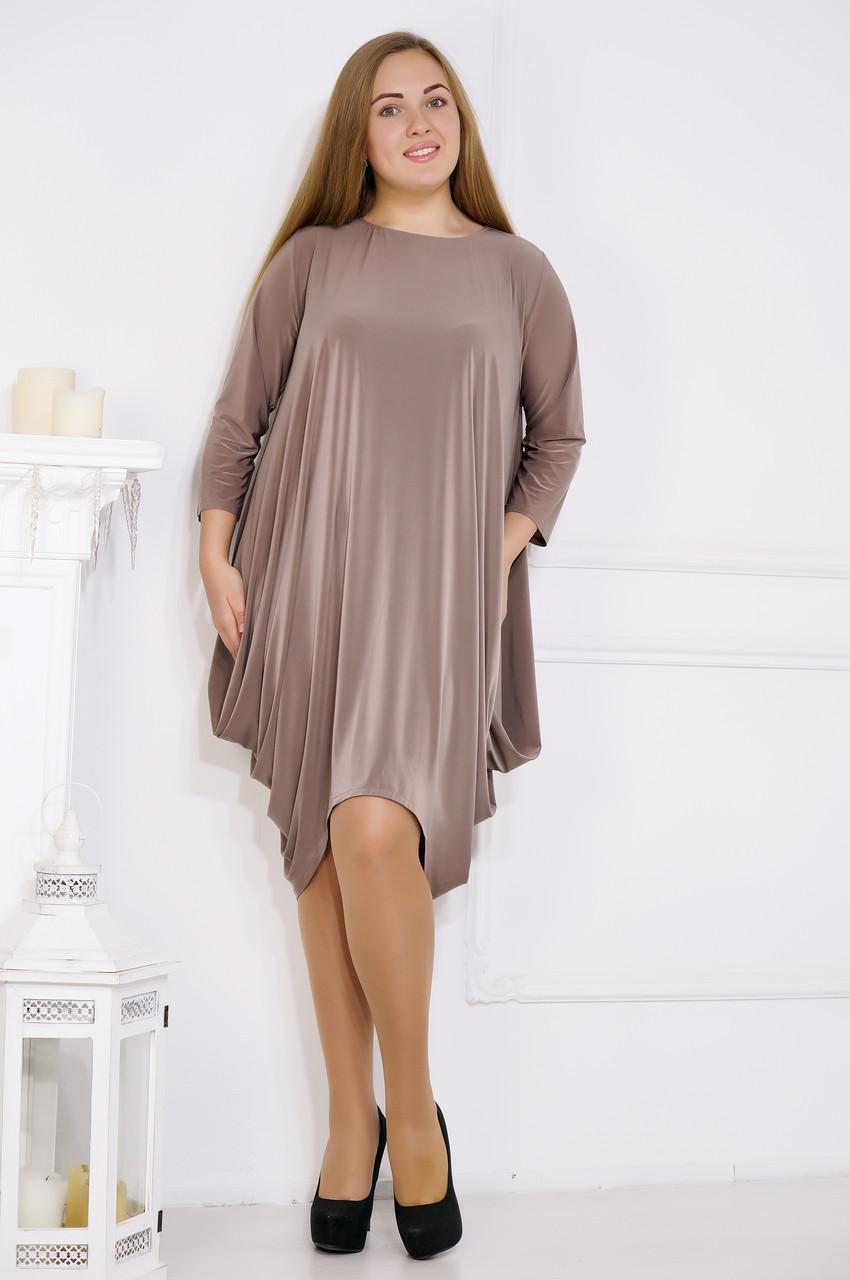 Элегантное вечернее платье 62 размера №505