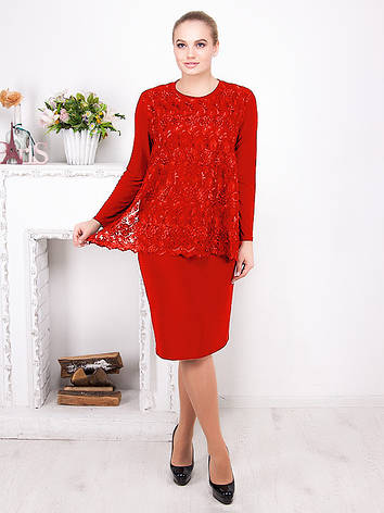 Романтичное вечернее платье с гипюром №510, фото 2