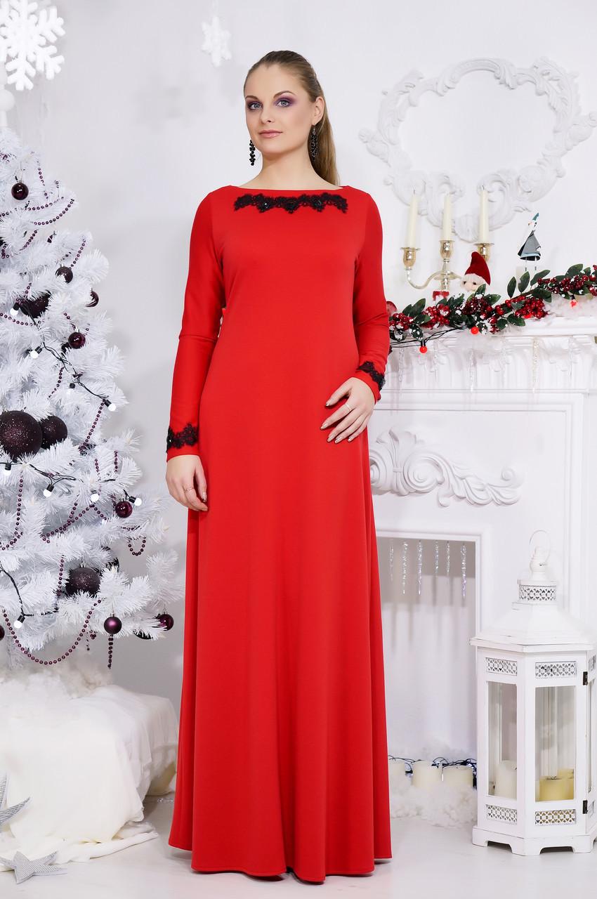 Длинное вечернее платье №513