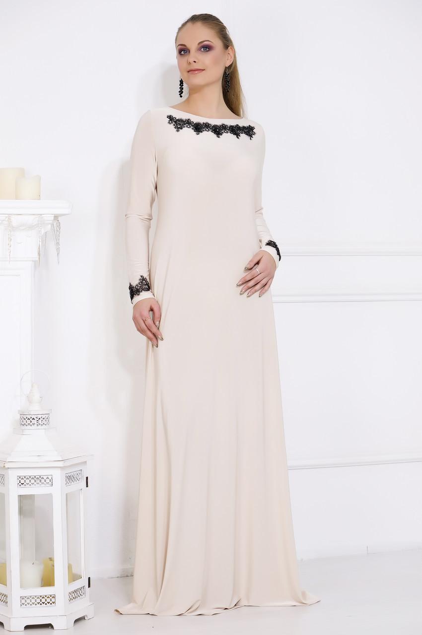 Длинное вечернее платье №514