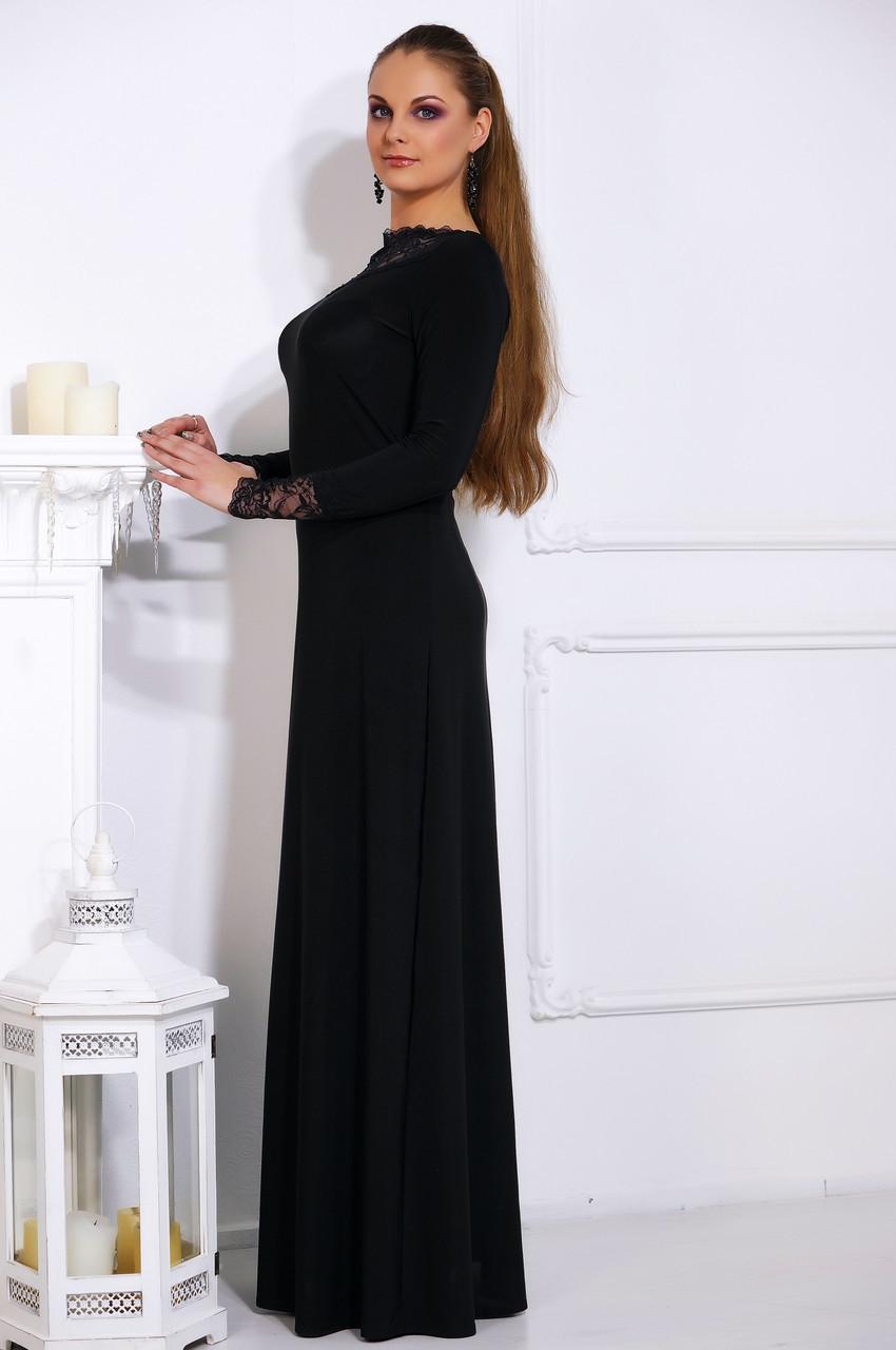 Длинное вечернее платье №515