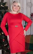 Повседневное женское платье большого размера №553, фото 3