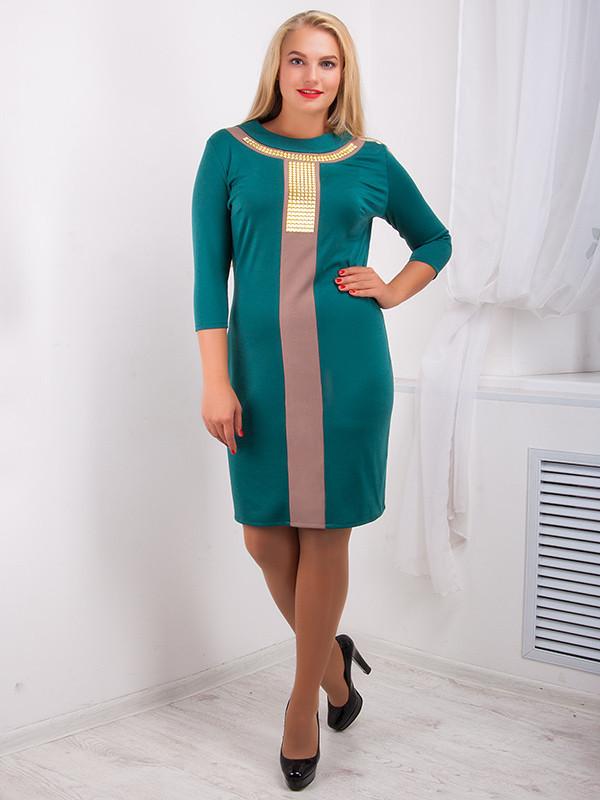 Стильное женское платье №722