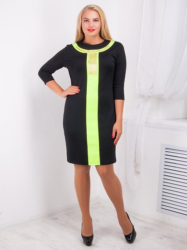 Стильное женское платье №723