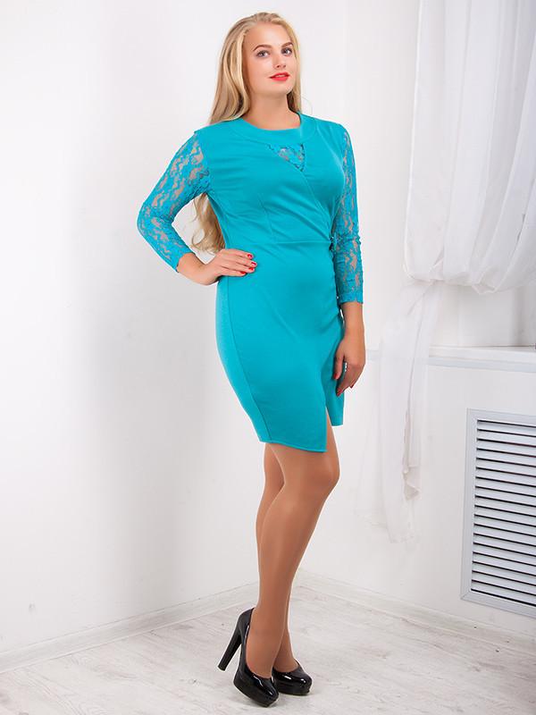 Платье женское приталенное№726