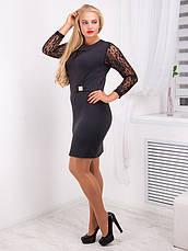 Платье женское приталенное№726, фото 3