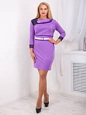 Нарядное женское платье 54 размера №729, фото 3