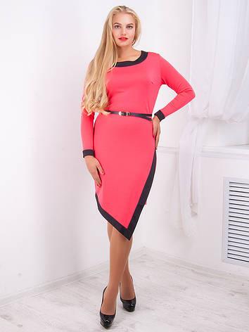Стильное женское платье №731, фото 2