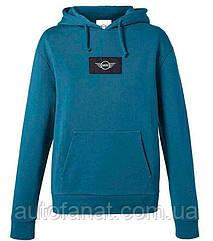 Оригинальная женская толстовка MINI Logo Patch Sweatshirt Woman's, Island (80142454951)