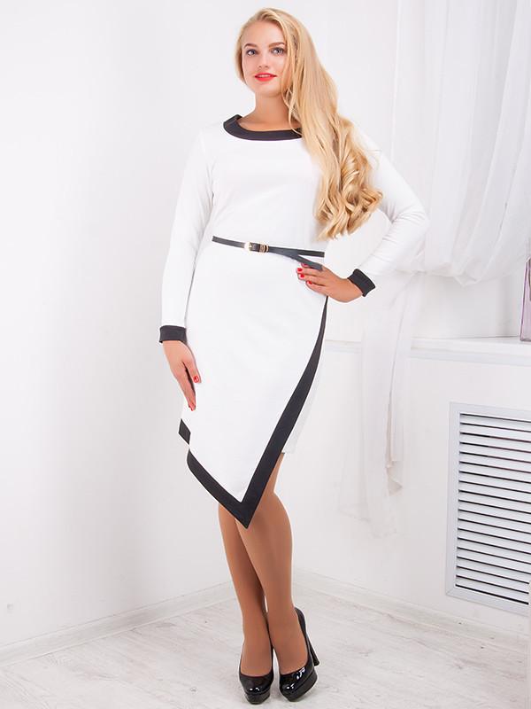 Стильное женское платье №733