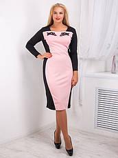 Платье женское с контрастной вставкой №724, фото 3
