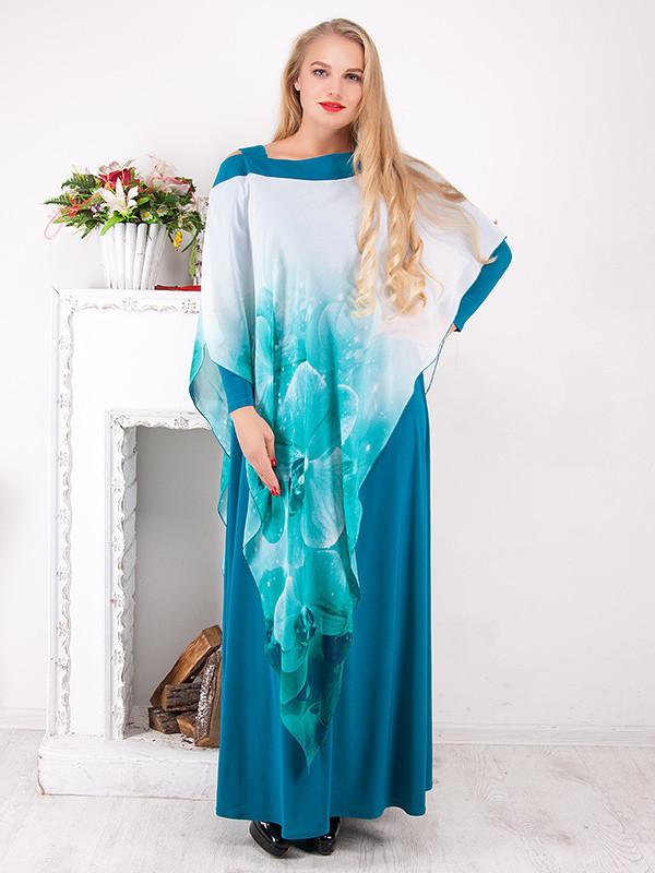 Вечернее платье длиной в пол №799