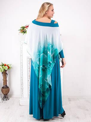 Вечернее платье длиной в пол №799, фото 2