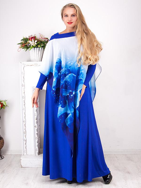 Вечернее платье длиной в пол №801