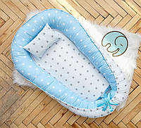 Гнездышко позиционер для новорожденных, кокон гнездо для ребенка