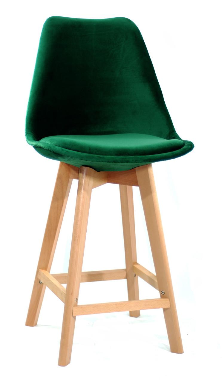 Полубарный стілець Milan Soft, зелений