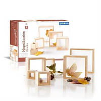 Набор блоков Guidecraft Natural Play лупа, 10 шт. (G3018), фото 1