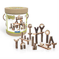 Набор блоков Guidecraft Natural Play палки и бруски, 36 шт. (G6770), фото 1