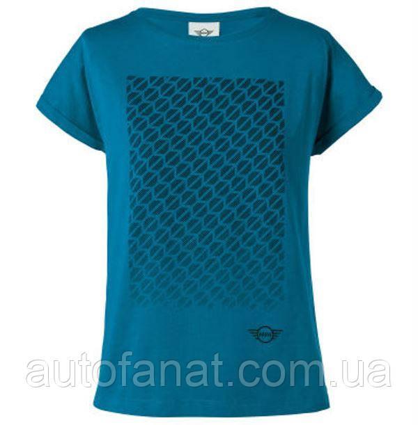 Оригинальная женская футболка MINI Signet T-Shirt Women's, Island (80142454933)