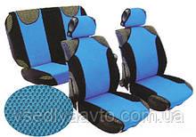 Майка перед+задн AG-23088/3 черн./синие+5подг (9ед)