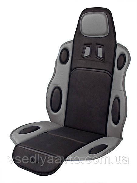 Накидка на сид. F 19002 GY/BK (FD 102075) сер/черн.