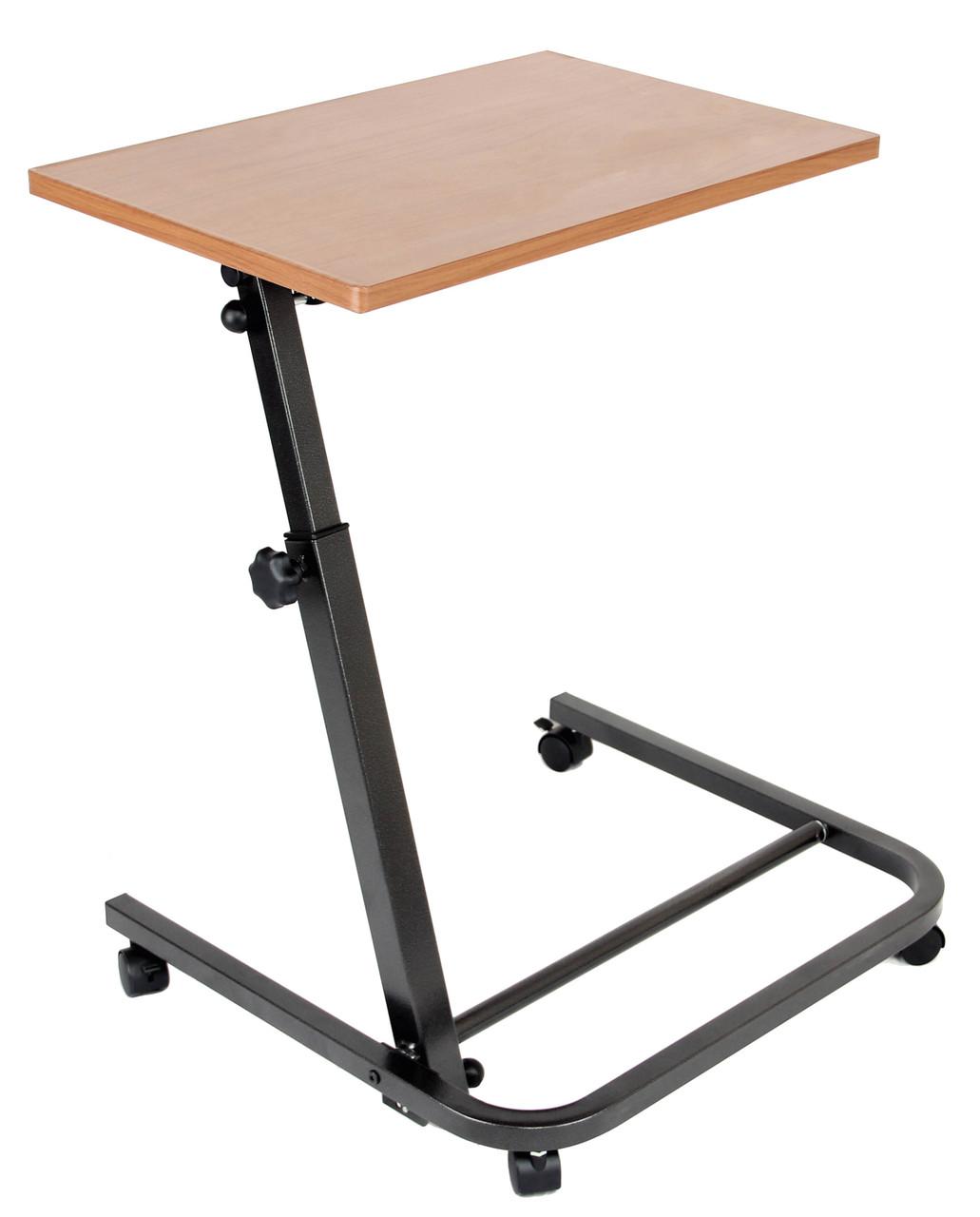 Прикроватный столик на колесах