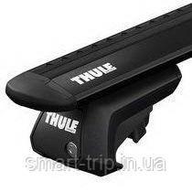 Багажник для авто c рейлингами Thule Evo WingBar серебристый 7104-711X TH-7104-711XB