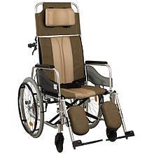 Багатофункціональна коляска з високою спинкою
