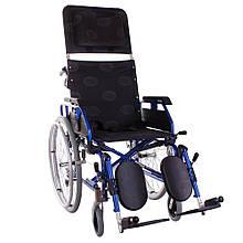 Багатофункціональна коляска «RECLІNER MODERN» синя