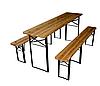 Коплект - стол + две скамейки