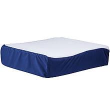Подушка на сиденье с овечьим чехлом
