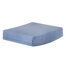 Подушка на сиденье в форме вафли, чехол из хлопка