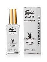 Тестер женский Lacoste Touch of Pink Pheromon, 65 мл