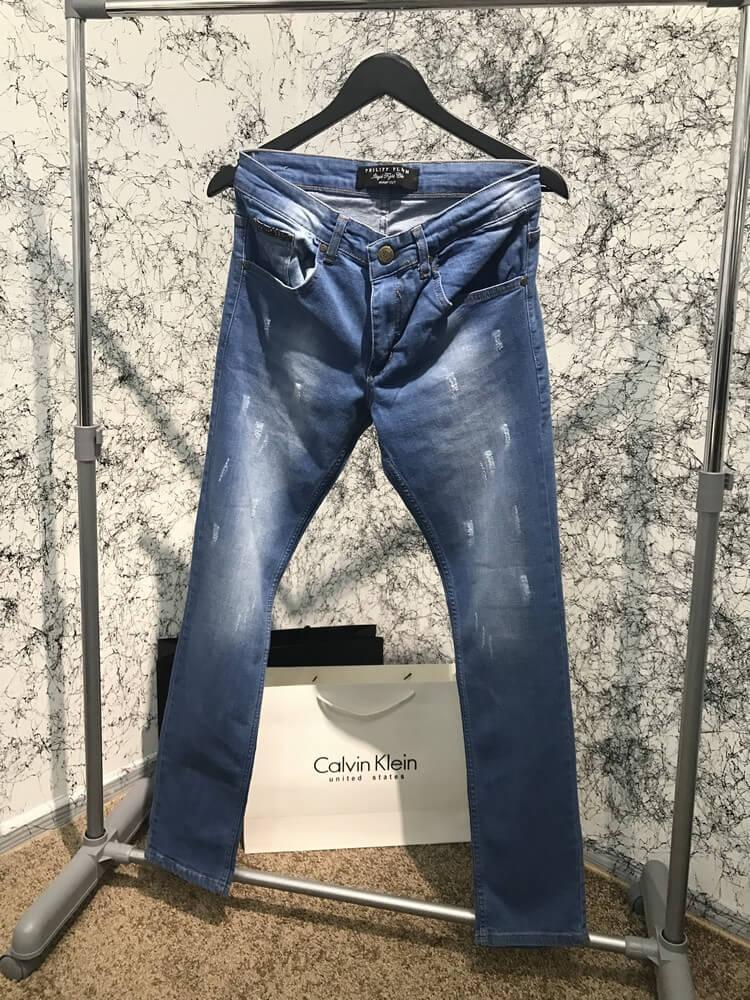 Jeans Philipp Plein Band It Blue