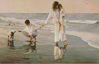 Набор для вышивания крестиком 015 'Прогулка у моря'