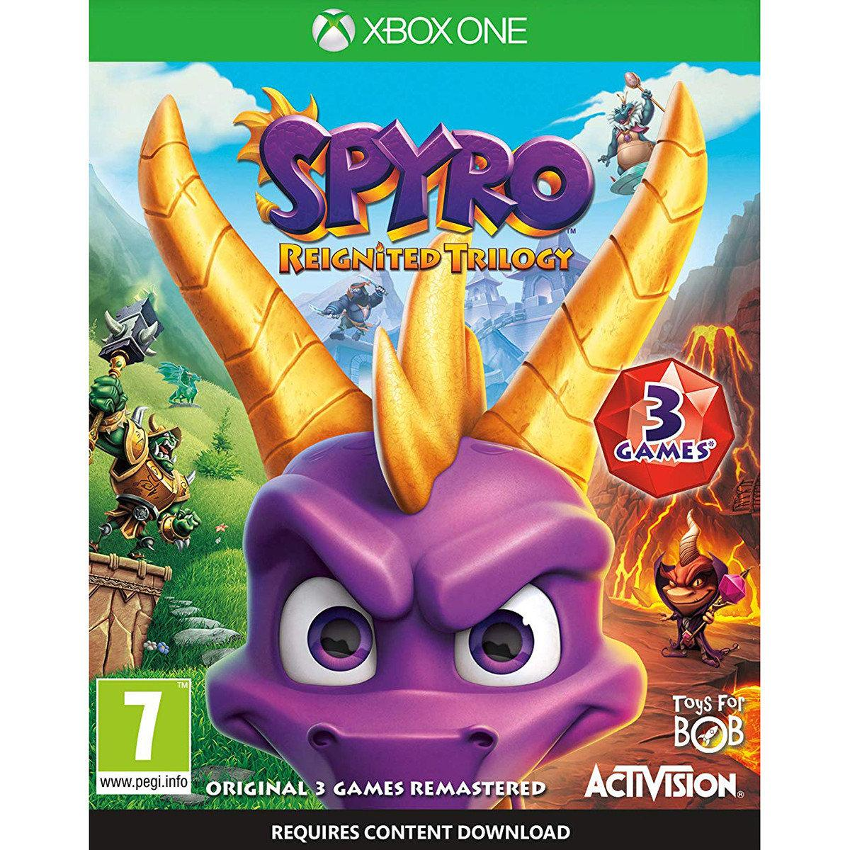 Xbox One Spyro Reignited Trilogy [Blu-Ray диск]
