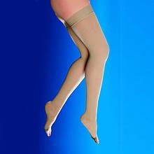 Компресійні панчохи з відкритим носком, 2 клас компресії (22-33 мм рт.ст.)