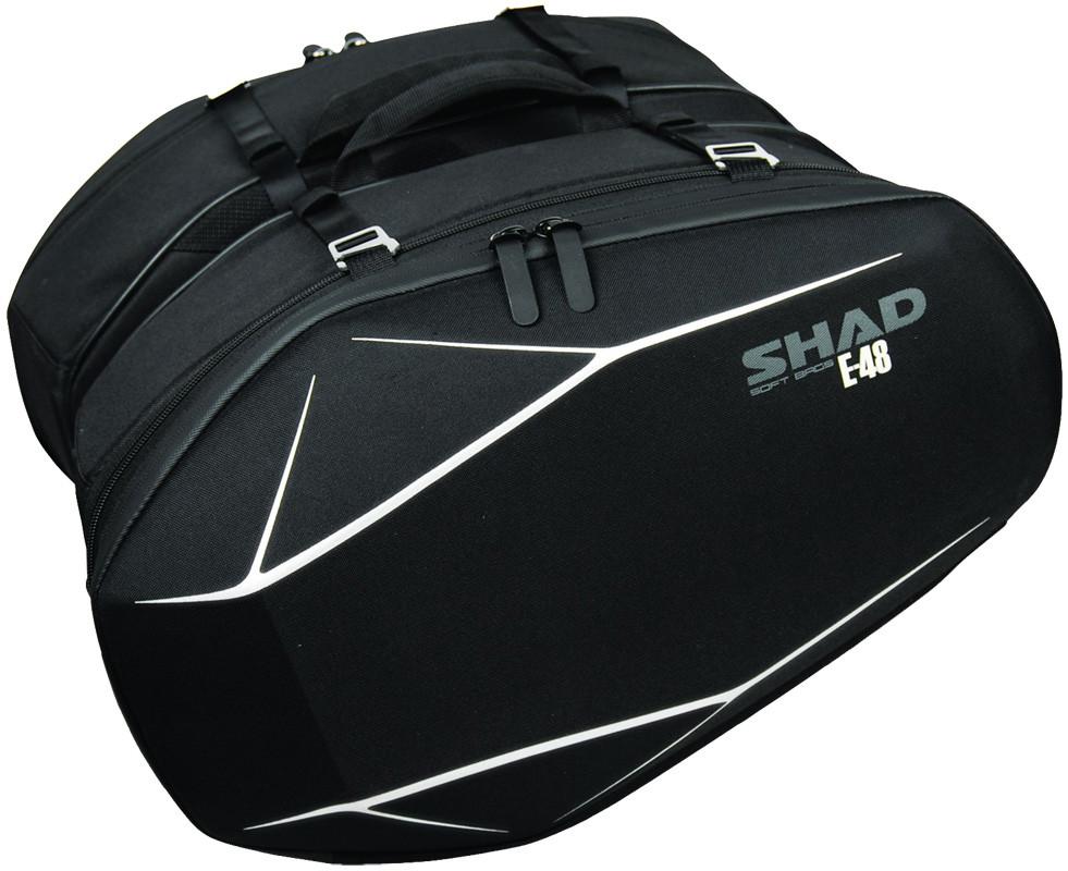 Cумки боковые SHAD E-48 black