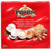 """Конфеты кокосовые Papagena Арахисовое масло & Кокос"""" Австрия 300г"""