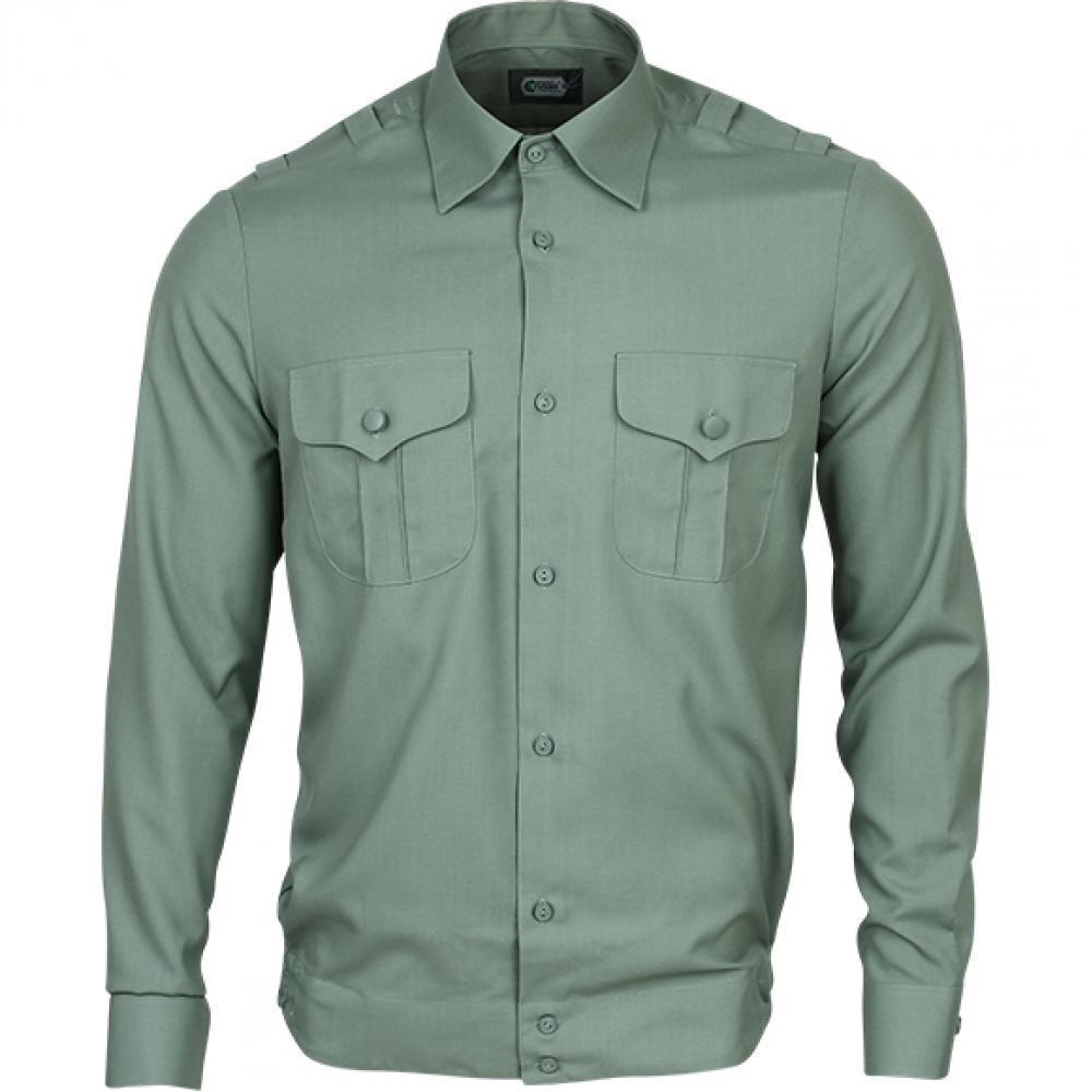 Рубашка форменная длинный рукав цвет полынь для НГУ, ЗСУ