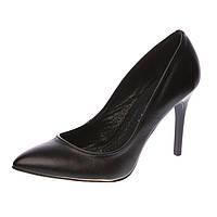 Туфли женские на высоком каблуке Mania, цвет чёрный, Украина 35р