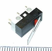 B061 1A 125V AC кнопка Концевой выключатель концевик  Microswitch Limit Switch 3Pins