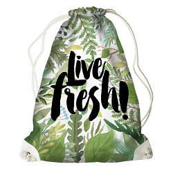 Рюкзак-мішок Live fresh (RM_16J015_WH)