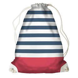 Рюкзак-мішок Синя смужка (RM_16J018_WH)