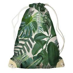 Рюкзак-мішок Тропічні листя (RM_16J027_SBR)