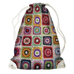 Рюкзак-мішок В'язка (RM_BOH001_WH)