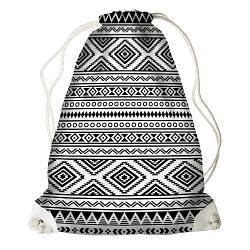 Рюкзак-мішок Візерунок (RM_BOH002_WH)