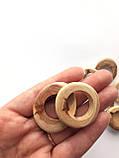 Можжевеловые колечки микс средние, отверстие 20мм, фото 3