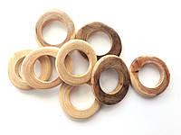 Можжевеловые колечки микс большие, отверстие 22мм, фото 1