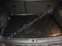 Коврик в багажник Volkswagen Golf 7 2012- резиновый